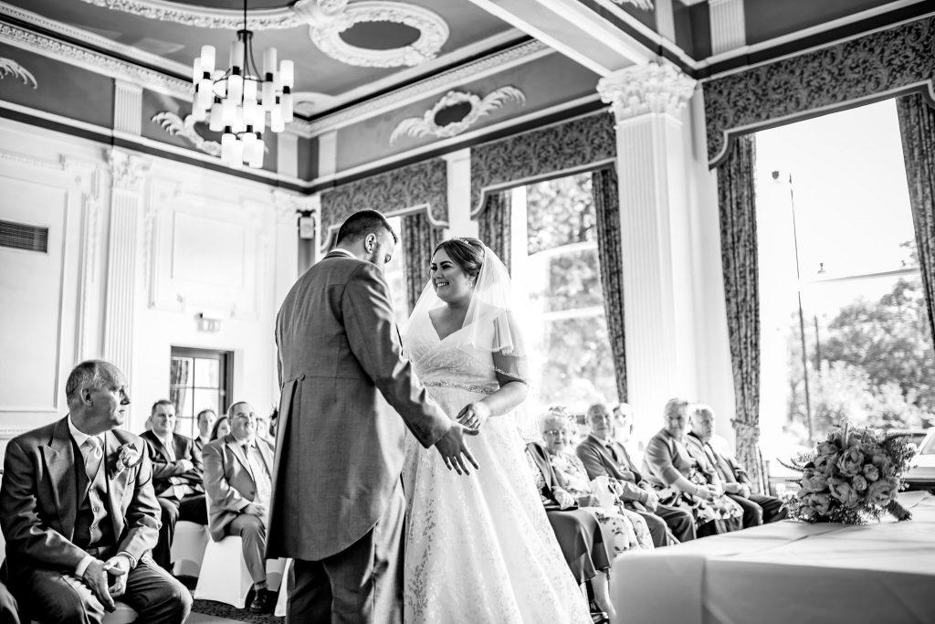 Wedding Photography at Cedar Court Hotel, Harrogate with Yorkshire wedding photographer.